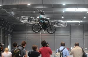Flying Electric Bicycle